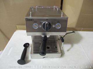 Gevi - Espresso Machine Coffee Machine 15 Bar Stainless Steel Coffee Brewer with Milk Frother Wand