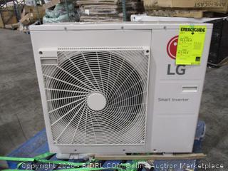 LG 36,000 BTU Ductless Multi Zone Heat Pump Air Conditioner Condenser