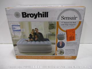 "Broyhill Sensair 17"" Raised Air Bed with Edge Support"