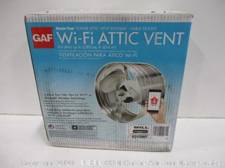 GAF WiFi Attic Vent For Up To 2,300sq ft