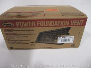 Power Foundation Vent
