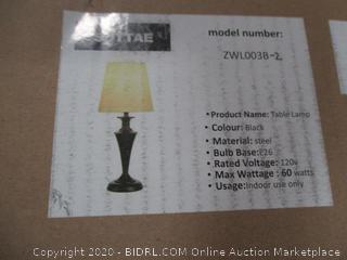 Table Lamp and Shade New