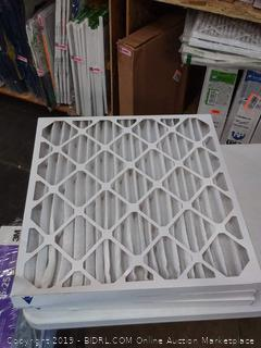 Nordic pure AC and furnace filters 24 * 24 * 2 three pack