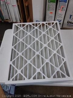 Nordic Pure 20x25x4 (3 5/8) Pleated MERV 12 Air Filter 1 Pack