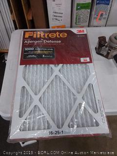 filter micro allergen defense 16 x 25 x 1 filters 2 pack