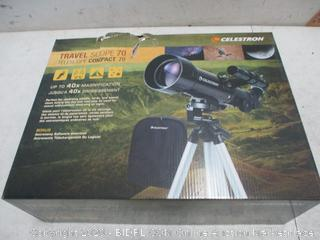 Celestron Travel Scope 70 new
