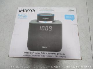iHome Bedside/Home Office Speaker System