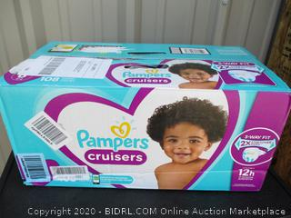 Pampers Cruisers- size 6