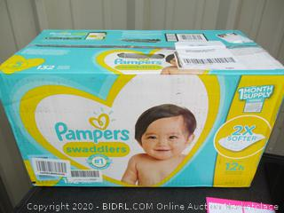 Pampers Swaddlers- size 5