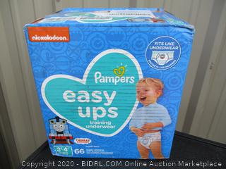 Pampers Easy-Ups- size 3T-4T