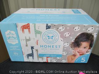 The Honest Company- size 5