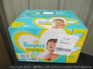 Pampers Swaddlers- size 2