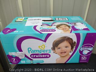 Pampers Cruisers- size 7
