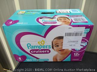 Pampers Cruisers- size 4