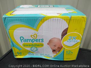 Pampers Swaddlers- size Newborn