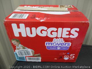 Huggies Little Movers- size 5