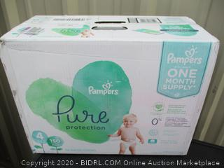 Pampers Pure Protection- size 4