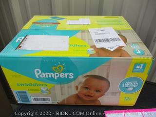 Pampers Swaddlers- size 3
