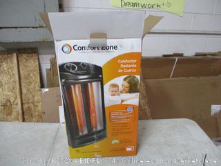 Comfort Zone Heater (Powers On)