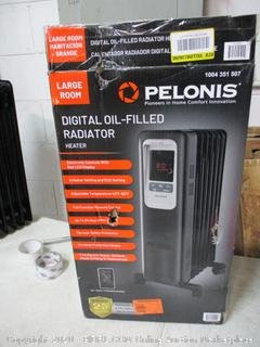 Pelonis Digital Oil-Filled Radiator Heater