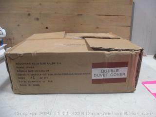 Box Lot Double Duvet Cover