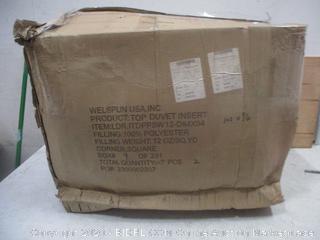 Box Lot Top Duvet Insert