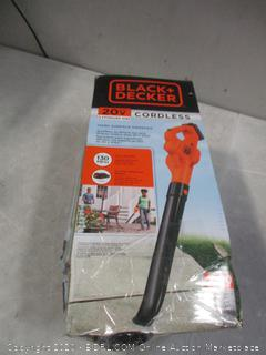Black + Decker  Cordless Hard Surface Sweeper