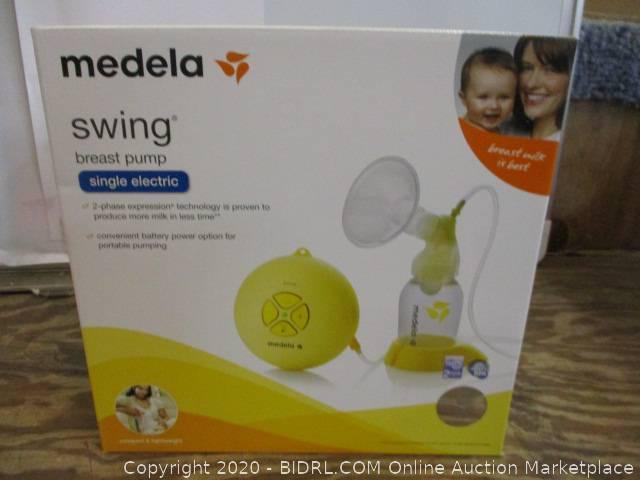 Medela Swing Breast Pump Single Electric Auction Bidrl Com