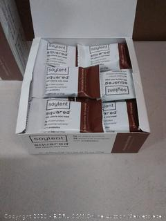 2 x Pack Soylent Squared, 100-Calorie Protein Bar, Chocolate Brownie ($25 per box - $50 value)