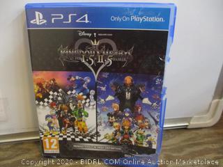 PS4 Disney Kingdom Hearts