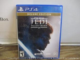 PS4 Deluxe Edition Star Wars JEDI Fallen Order