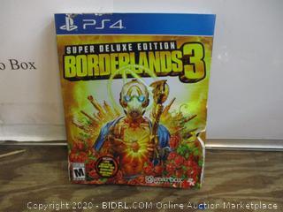 PS4 Super Deluxe Edition Borderlands 3