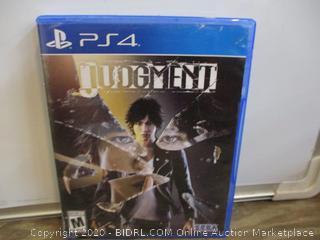 PS4 Judgement  box damage