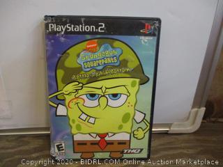 Play Station 2 Sponge Bob Square Pants
