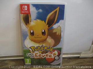 Nintendo Switch Pokemon Let's Go Fevee