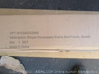 Bed Frame Size Queen (Box Damaged) (Please Preview)