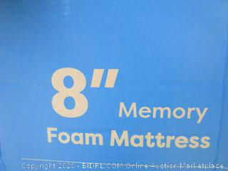 "8"" Memory Foam Mattress Size Queen (Please Preview)"