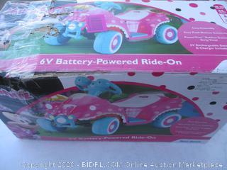 Disney Junior Minnie 6V Battery-Powered Ride On