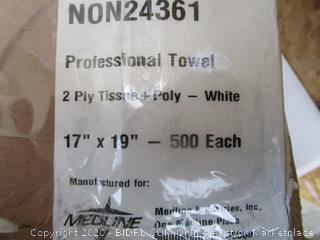 Professional Towel 2 Ply Tissue (Box Damage) (Please Preview)