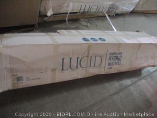 Lucid 10 Inch King Hybrid Mattress