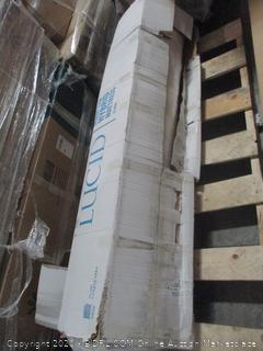 Lucid Cal King Memory foam Hybrid Mattress  12 inch
