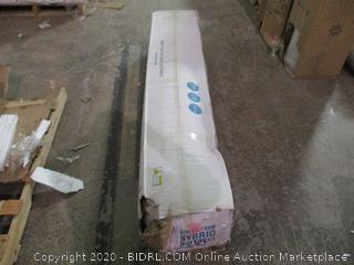 Lucid Memory Foam Hybrid Mattress 12 inch  new
