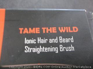 ionic Hair and Beard Straightening Brush