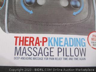 Thera-Pkneading massage pillow
