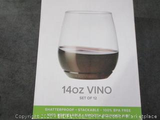 14oz Vino  See Pictures  Glasses