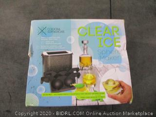 Clear Ice Sphere Maker