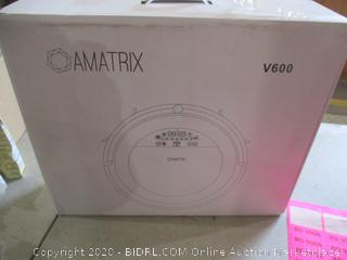 Amatrix V600 Dual Vacuum and Mopping Robotic Cleaner