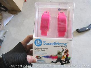 Sound Moovz Motion-Activated Musical Bandz