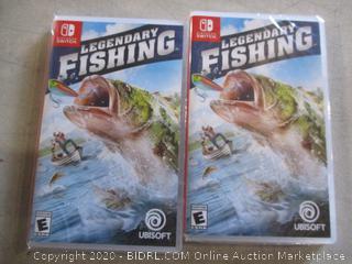 2-Nintendo Legendary Fishing Sealed