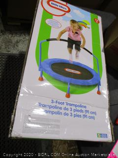 Little tikes 3 foot trampoline